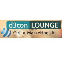 Feinstes Networking, Musik und Drinks. OnlineMarketing.de ist Host der d3con-Lounge und hat alles für einen gelungenen Abend angerichtet.