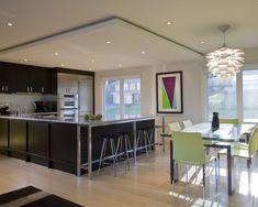 8 Inventive Cool Tips: False Ceiling Ideas Paint Colors porch false ceiling design.False Ceiling With Fan Home false ceiling design bathroom. False Ceiling Design, Kitchen Ceiling Design, Kitchen Lighting Design, Design Kitchen, Kitchen Ceilings, Low Ceilings, Modern Condo, Home Modern, Modern Bedroom