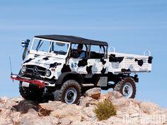 Mercedes-Benz Unimog un verdadero todo terreno - Taringa!