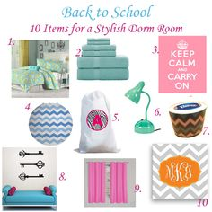 back to school: 10 dorm essentials for the fall