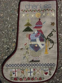 Lois/'s Christmas Stocking Shepherd/'s Bush Cross Stitch Pattern or Kit