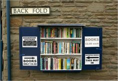 Backfold Books and Bygones, Hay-on-Wye (Wales' National Book Town), UK.