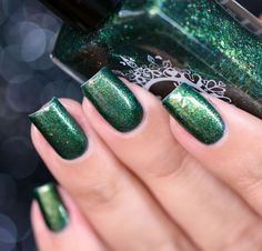 Spell Polish is a boutique/indie nail lacquer with a luxurious formula of glitters, micas and pigments- MINUS the toxins! Spell yourself well! Wood Nails, Out Of The Woods, Nail Art, Spelling, Swatch, Nail Polish, Glitter, Prince, Beautiful
