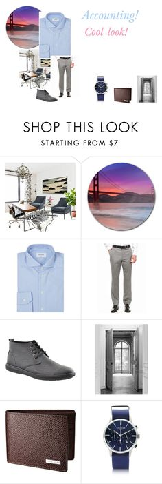"""For Adam Kirk (cousins husband) - Adam's ideal wardrobe by me: Accounting worker!"" by sarah-m-smith ❤ liked on Polyvore featuring ETON, Tommy Hilfiger, Maison Margiela, Locman, men's fashion and menswear"