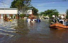 Inundaciones en Argentina.
