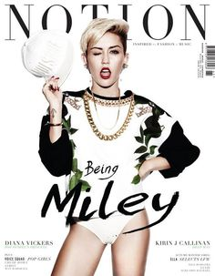 Miley Cyrus for Notion Magazine September 2013