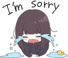 somehow if i hurt u then plz forgive me softy doll Dibujos Anime Chibi, Cute Anime Chibi, Cute Anime Pics, Anime Neko, Manga Anime, Sad Anime Girl, Kawaii Anime Girl, Anime Art Girl, Kawaii Chan