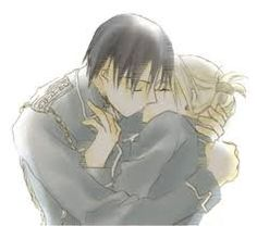 Image result for roy mustang and riza hawkeye kiss