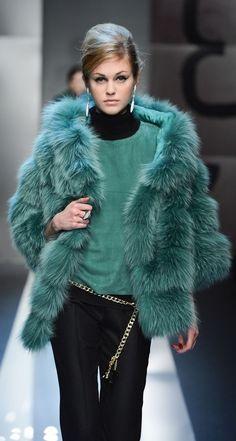 Carlo Tivioli Winter 2014. love the vest!