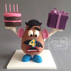 Toy Story Mr Potato Head Cake by Little Hill Cakes