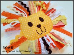 Roar! quiet book page