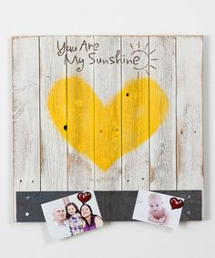 Another great find on #zulily! 'You Are My Sunshine' Wall Art #zulilyfinds