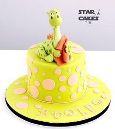 tarta dinosaurio dinosaur cake Síguenos en https://www.facebook.com/starcakes.es