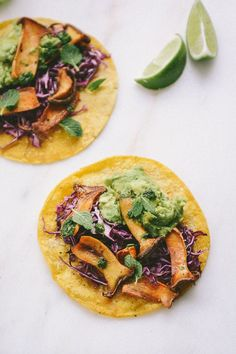 Vegan Oyster Mushroom Tacos Ready in less than 30 minutes from start to finish! | Scaling Back