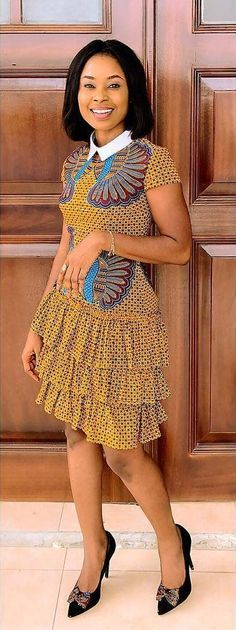 Really like these africa… - Sommer Kleider Ideen Latest African Fashion Dresses, African Dresses For Women, African Print Dresses, African Print Fashion, Africa Fashion, African Attire, African Wear, African Women, African Prints