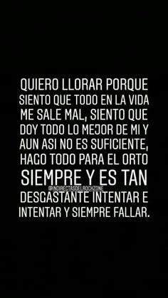 Pvta que sad Bio Quotes, Tumblr Quotes, True Quotes, I Hate My Life, Sad Life, Spanish Phrases, Spanish Quotes, Sad Texts, Pretty Quotes