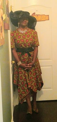 Sew Virtuous Design African Dress, Dress Fashion, High Low, Sewing, Dressmaking, Couture, Stitching, Sew, Costura