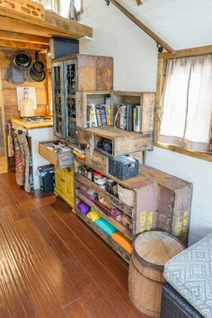 Image result for tiny houses interior storage