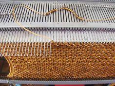 Cursus Machinebreien bij Het Gildelab in Amsterdam #knitting #breimachine #amsterdam
