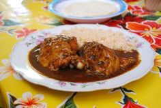 Easy Mexican Mole Sauce for Chicken, Turkey, and Pork Entree Recipes, Side Dish Recipes, Sauce Recipes, Cooking Recipes, Vegan Recipes, Mexican Food Dishes, Mexican Food Recipes, Mexican Meals, Main Dishes