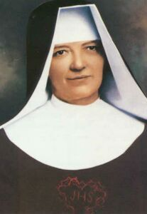 Blessed Marie Therese of Saint Joseph pray for us.  Feast day September 20.