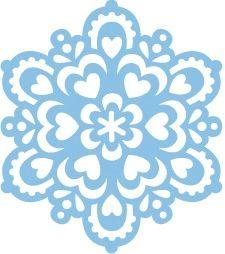 Wykrojnik płatek śniegu Marianne Design