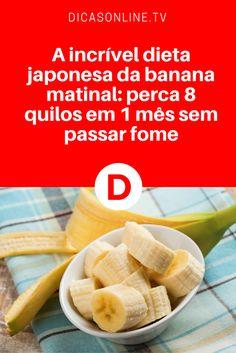 Dieta da banana matinal depoimentos