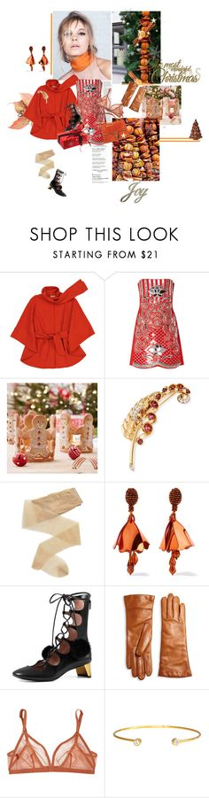 """""""Eight of Cups"""" by la-rosy ❤ liked on Polyvore featuring Aroma, David Koma, Fogal, Oscar de la Renta, Gucci, Saks Fifth Avenue Collection, Eres and Hysteric Co."""