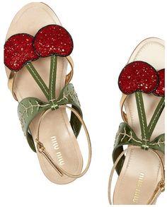272cfe490782 miumiu These shoes are delish! Miu Miu Sandals