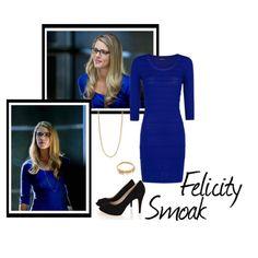 Felicity Smoak by idmiliris