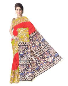 Unique handblock printed kalamkari sarees.ay COD, 15 day returns.Resellers- WhatsApp us on 9902488133-http://www.giftpiper.com/browse/kalamkari-print-1