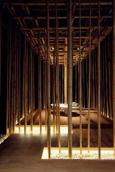SHANG XIA Opens Boutique in Beijing with an Exhibition of Chinese Contemporary Craftsmanship - People& Daily Online Bamboo Architecture, Chinese Architecture, Interior Architecture, Interior Design, Chinese Restaurant, Restaurant Design, Chinese Interior, Bamboo House, Bamboo Design