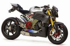 """Ducati 1199 """"Nuda Veloce"""" by Moto Corse"""