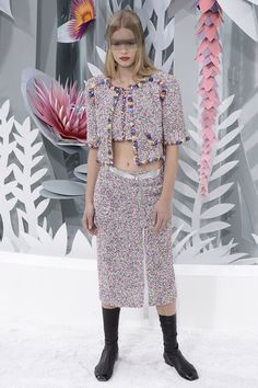 Pin for Later: Germany's Next Topmodel ganz ohne Casting-Show Chanel Haute Couture Frühjahr/Sommer 2015