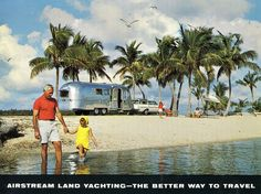 Airstream travel trailers bring to mind the golden age of camping. But they're popular in the modern era, too: Airstream's trailer production is at its highest level since the 1970s, and travel trailer sales this year alone are up 33 percent.