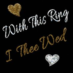 List of wording options for the exchange of rings in a wedding