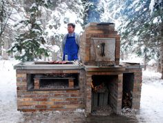 Barbecue Smoker Grill - contemporary - grills - salt lake city - by Kingbird Design LLC