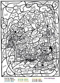 BBQ Color by number coloring page. Print out and color this BBQ Color by number coloring page. It will be a nice present for your Mom or Dad. This BBQ . Adult Color By Number, Color By Numbers, Coloring Pages For Kids, Coloring Books, Coloring Worksheets, Alphabet Coloring, Colouring, Printable Numbers, Fun Math Games