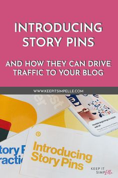 "So, story pins are basically the newest way to share your ideas on Pinterest. They are created using multiple pages of text, images, video and links so you can get a lot more creative than with your regular static pins. Story pins haven't fully rolled out to everyone; right now they're available to business accounts (I told you to up your Pinterest game, huh!) in the UK so go check on the website or app, click the ""+"" and see if you have early access!"