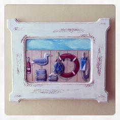 wood painting 3d frame / ahşap boyama 3 boyutlu çerçeve