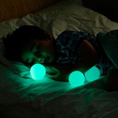 there's nothing electronic in them, so they don't get warm and they won't break. You can even tuck them into bed with your child. The glow fades to dark after 30 minutes, helping them fall asleep.