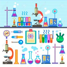 Chemical Laboratory in flat style Chemical Laboratory is part of Medical Laboratory Science Art - Millions of Creative Stock Photos, Vectors, Videos and Music Files For Your Inspiration and Projects Science Party, Mad Science, Science Fair, Science And Technology, Science Experiments, Illustration Inspiration, Flat Illustration, Science Illustration, Illustrations