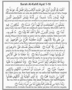 Surah Al Kahfi 1 10 Aarif Billah In 2020 Words Quotes Surah Al Kahf 10 Things