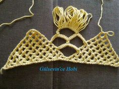 HOBİ DÜNYASI: gelin şalı netten alıntı. Crochet Lace Scarf, Crochet Stitches, Crochet Bikini, Crochet Top, Burlap Crafts, Beautiful Crochet, Knit Patterns, Crochet Projects, Tree Branches