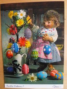 Postkarte AK Mecki * Ostern * Nr.360 Frohe Ostern | eBay