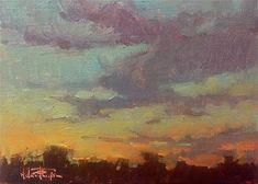 Melanie Thompson Gallery of Original Fine Art Daily Painters, Fine Art Auctions, Beautiful Sunrise, Fine Art Gallery, Van Gogh, Art Forms, Sunsets, Artist, Artwork