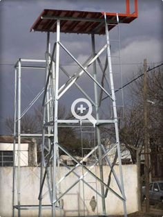 Torre para tanque elevado