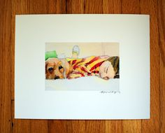 Guardian Archival Print by hannahlaura on Etsy, $20.00