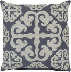 Madrid 22 x 22 x 0.25 Pillow Cover WL-23766-S