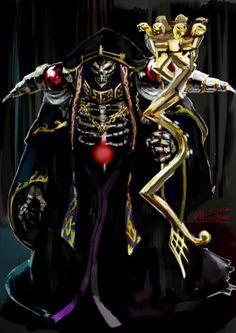 overlord - Momonga sama - ainz ooal gown - fanart